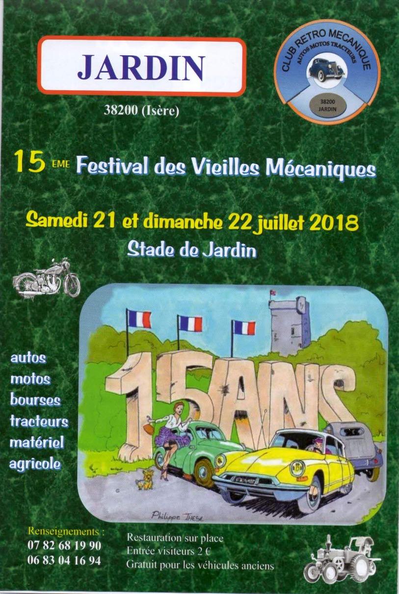 15 Festival Vieilles Mécaniques